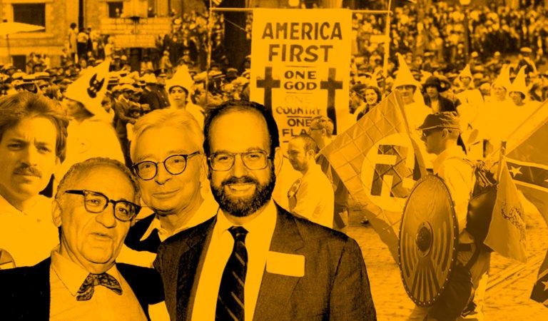 A obscura relação entre anarcocapitalistas e supremacistas brancos